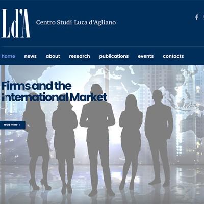 Realizzazione sito web Centro Studi D'Agliano