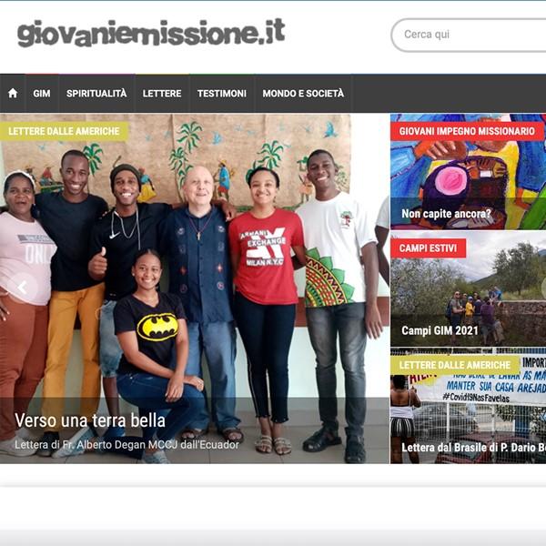 Realizzazione portale web Giovani e Missione