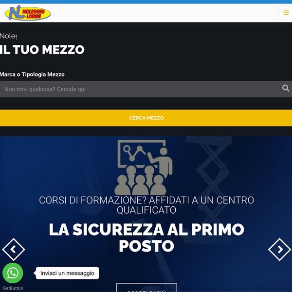 Realizzazione sito web Noleggio Lorini