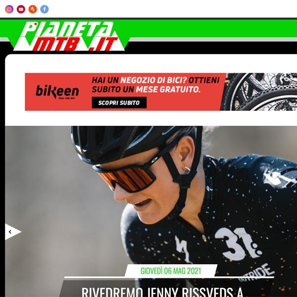 Realizzazione portale web Pianeta Mountainbike
