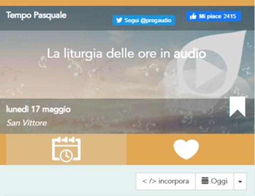 Realizzazione app mobile Pregaudio