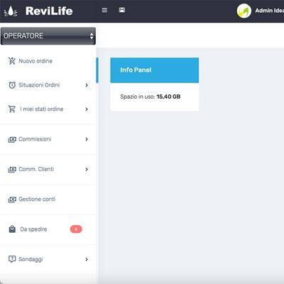 Revilife WebApp