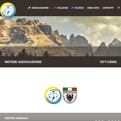 Realizzazione sito web Trentino Sci